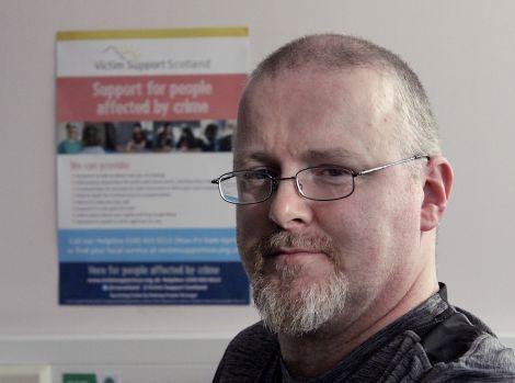 Iain Souter of Victim Support Shetland