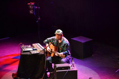 Multi-talented Eigg-based singer songwriter The Pictish Trail. Photo: Shetnews