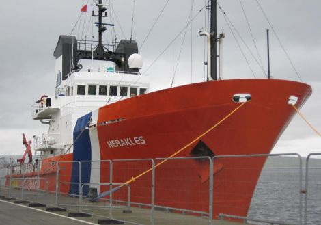 The emergency towing vessel Herakles.
