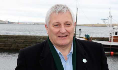 Highlands and Islands top Green candidate John Finnie: 'we want social justice too' - Photo: Chris Cope/ShetNews