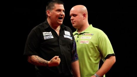 Top two world-ranked players Gary Anderson and Michael van Gerwen head this year's bill.