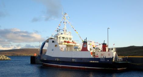 The Geira pictured in Fetlar back in 2012. Photo: Robert Thomson