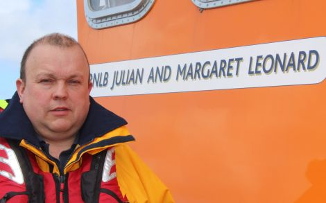 Lochinver lifeboat coxswain David MacAskill - Photo: RNLI