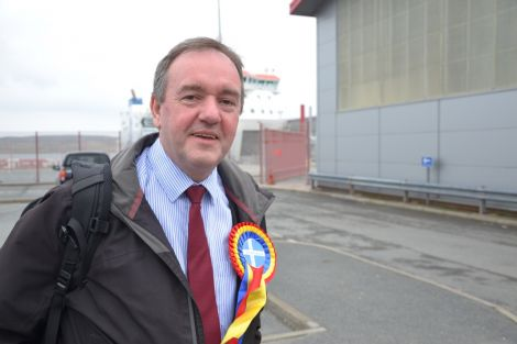 Orcadian James Stockan is standing as an independent on the Highlands and Islands list. Photo: Shetnews