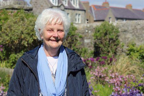 Former Hamnavoe sub postmistress, 70 year old Greta Halcrow BEM