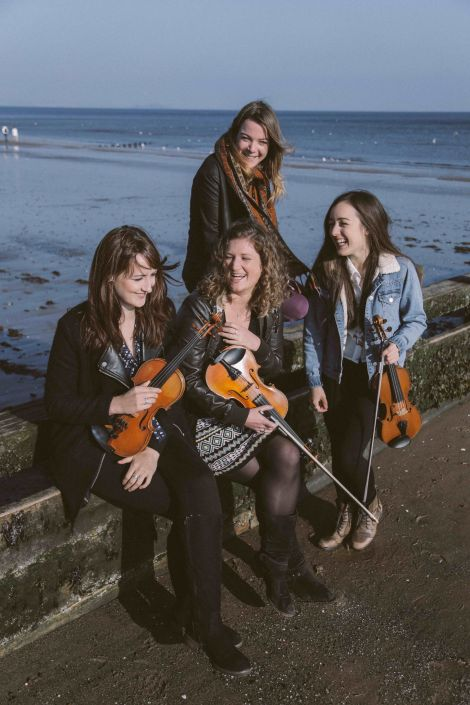 Orkney-raised trad quartet Fara.