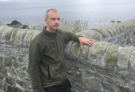 Erik Isbister, who caught some of the incident on film, thought the whale was heading straight for Barr. Photo: BBC Radio Shetland