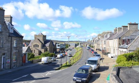 """The Upper and Lower Hillhead are among around 30 roads set to be """"microsurfaced"""". Photo: Neil Riddell/Shetnews"""