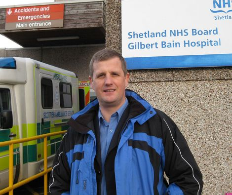 NHS Shetland chief executive Ralph Roberts says the health board is identifying ways to minimise the need for patients to travel south.
