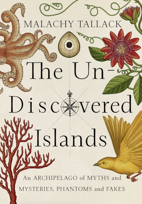 The striking cover of 'The Un-Discovered Islands', illustrated by Katie Scott who has worked with the New York Times and the BBC.