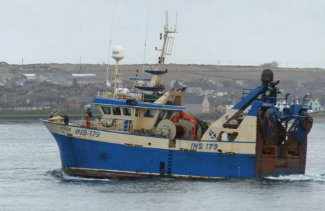 A 25-year old fisherman died when he fell overboard from the Inverness registered trawler Apollo off Orkney on 18 April this year - Photo- MAIB