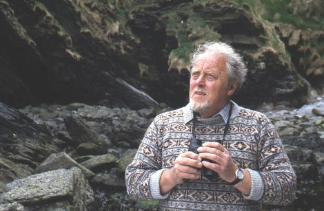 Renowned field ornithologist Bobby Tulloch. Photo: Gunnie Moberg