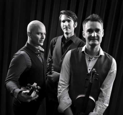 Kevin Henderson's trio Nordic Fiddlers Bloc.
