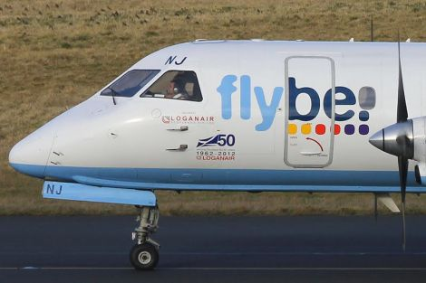 The Flybe logo will vanish from Loganair planes from September next year.
