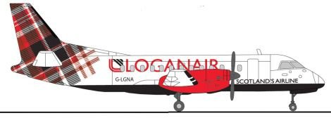 Loganair is to rebrand when it parts company with Flybe at the end of next summer.
