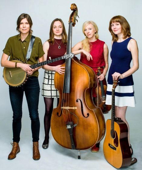 Goodbye Girls promise bluegrass, old time Americana and Swedish traditional sounds.