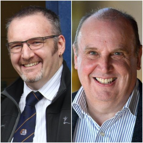 Gary Robinson and George Smith both criticised the SNP's approach to local government funding for the next financial year.