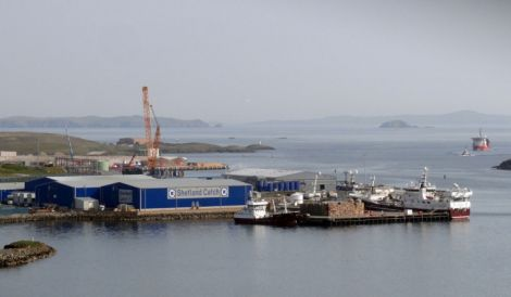 Norwegian company Pelagia has stepped in to rescue the Shetland Catch factory at Gremista. Photo: Shetland News