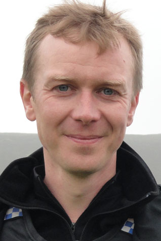 Steven Robertson - delighted to home for filming next month.