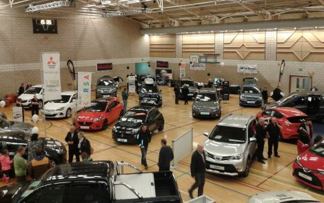 The Rotary Motor show is held every second year at Lerwick's Clickimin Leisure Centre - Photo: Rotary Club of Shetland