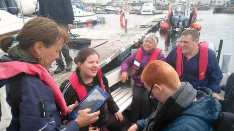 Boat trips are also part of the service provided by charity - Photo: Disability Shetland