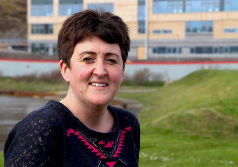 Disability Shetland's new team leader Stephanie Bain. Photo: Hans J Marter/Shetland News