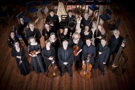 Dunedin Consort will be performing with five vocalists and two instrumentalists.