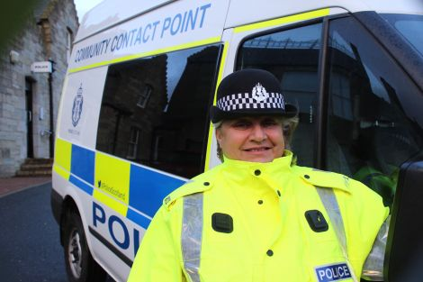 Police constable Amanda Souter. Photo: Shetland News