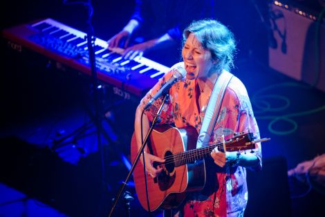 """The Mareel audience enjoyed an """"intimate and intense"""" performance from Martha Wainwright on Wednesday night. Photo: Steven Johnson"""