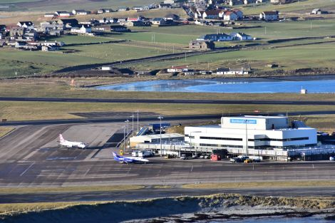 Sumburgh Airport. Photo: Mark Berry.