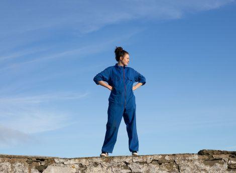 Shetland comedian Marjolein Robertson is about to begin a three-week stint at the Free Fringe in Edinburgh. Photo: John Carolan