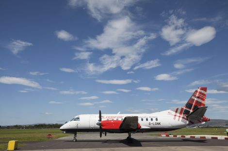 Loganair started flying solo from 1 September after being a franchise partner for 25 years.