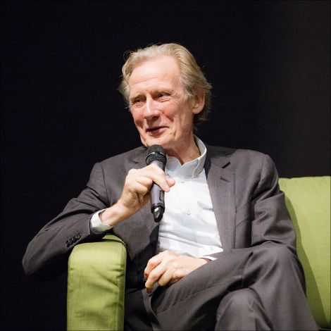 Bill Nighy during a Q&A at Screenplay on Saturday night. Photo: Dale Smith.
