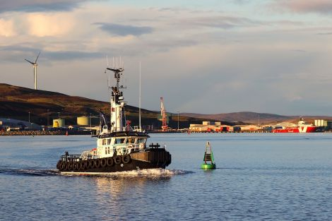 Just 12 Shetland businesses participated in the survey. Photo: Shetland News