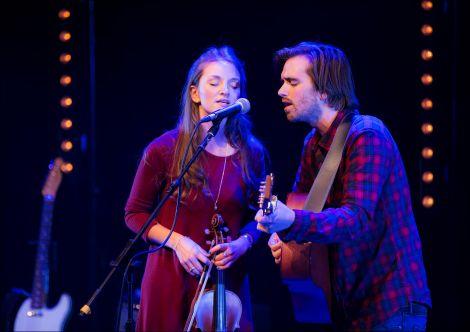 Hannah Fisher and guitarist Sorren Maclean.