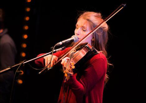 Fiddler Hannah Fisher.