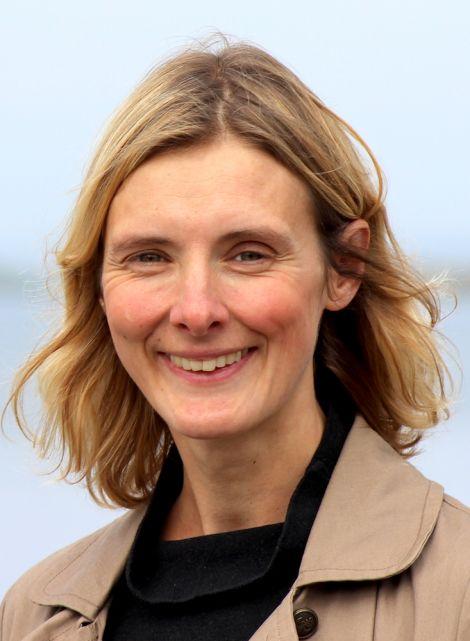 Shetland Life editor Genevieve White: 'I was hopeful - I wasn't exactly expecting it'. Photo: Hans J Marter/Shetland News