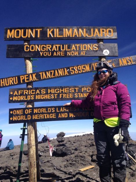 Gemma Graham previously raised over £5,000 for arthritis and mental health charities when she climbed Mount Killimanjaro in 2014.