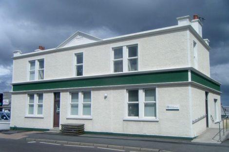 Shetland Charitable Trust's headquarters in Lerwick.