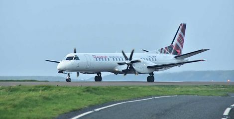 Loganair says it has 70 per cent of market share on the routes to Aberdeen, Edinburgh and Glasgow. Photo: Mark Berry