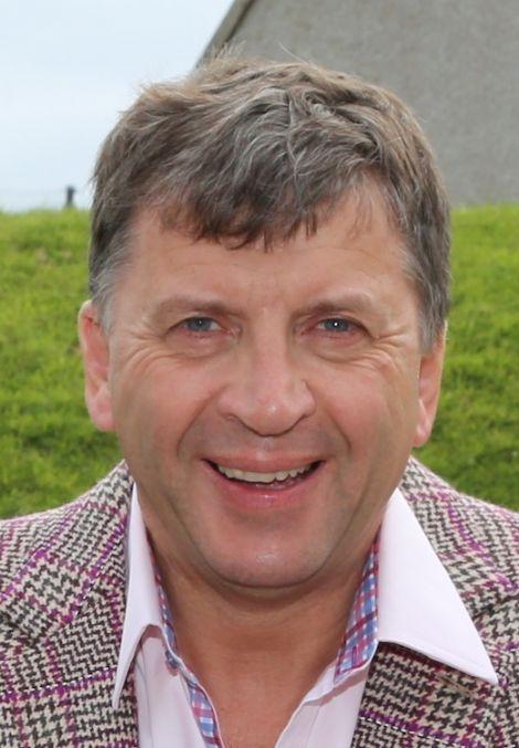 Frank Strang of Shetland Space Centre Ltd.