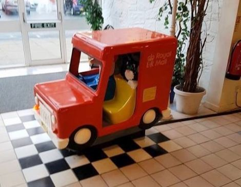 The Postman Pat ride has been an iconic fixture at the Toll Clock Shopping Centre for a generation.