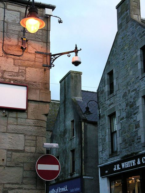 The Lerwick town centre CCTV network is not fit for purpose. Photo: Shetland News