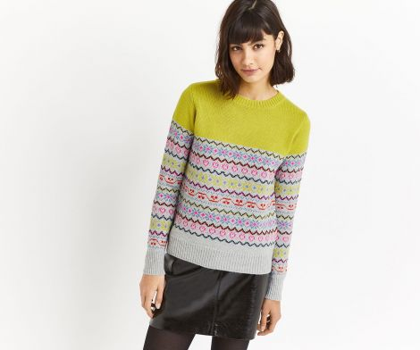 The jumper as featured on fashion brand Oasis' website.