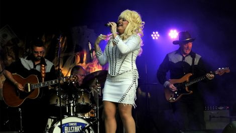 Sarah Jayne has been performing as Dolly Parton for over 25 years.