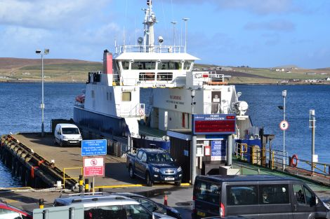 The council currently uses its own resources for nearly half the cost of running the inter-island ferry service.