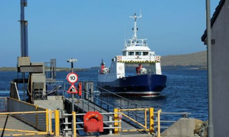 Shetland and Orkney's inter-island ferries have been placed at the centre of a political tussle.