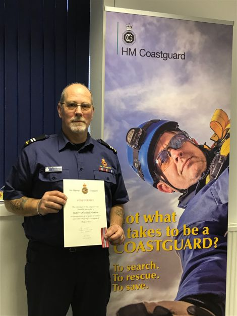 Bob Hudson: 30 years of service.