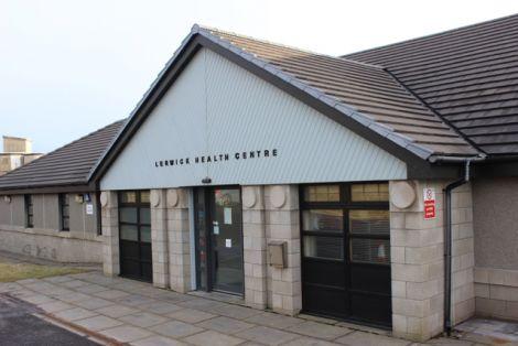 Lerwick Health Centre.