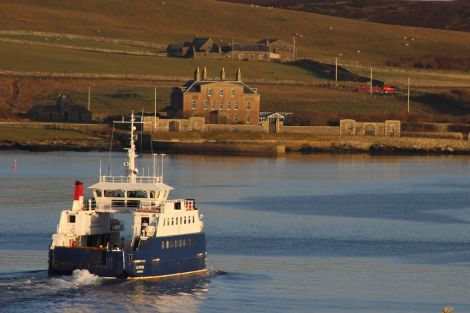 Shetland Islands Council will receive an extra £5 million next financial year to run the inter island ferry service. Photo: Shetland News